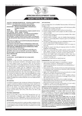 Bank Vacancy In Ethiopia