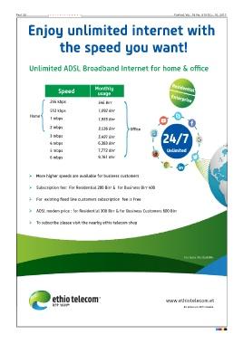 Ethiotelecom Internet